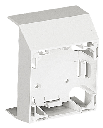 47 Series Frontal Adapter for 75x20 Trunking