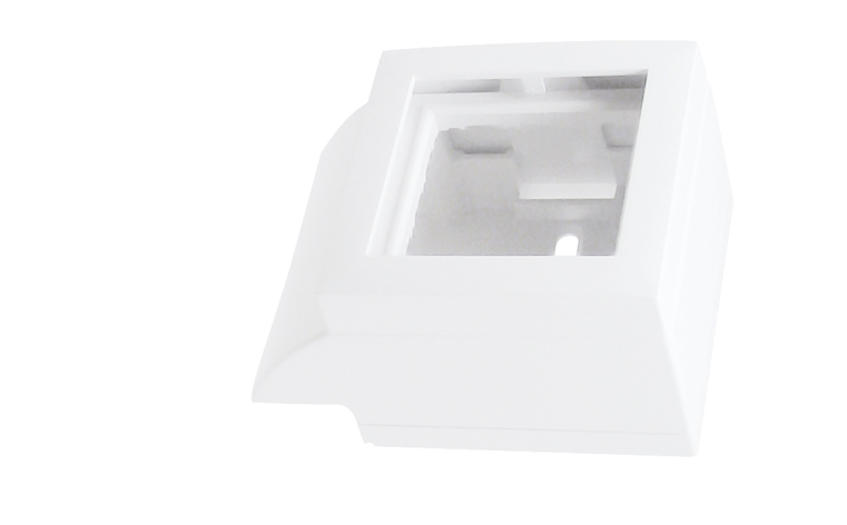 Adaptador Lateral Q45 para Canal 20x12,5