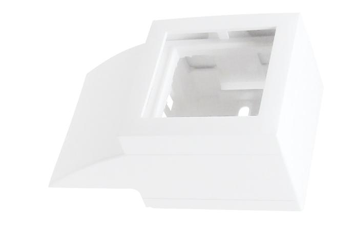Adaptador Lateral Q45 para Canal 40x12,5