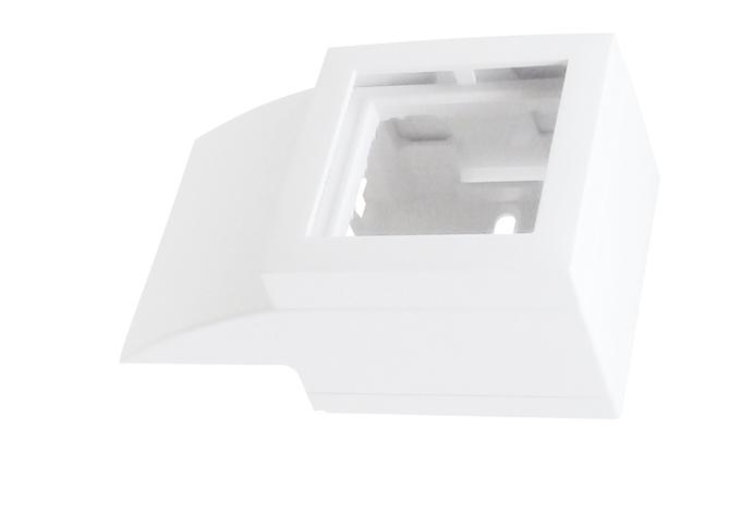 Adaptador Lateral Q45 para Canal 40x16