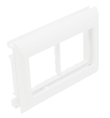 Adaptador Q45 Tapa L75 - 4 Módulos