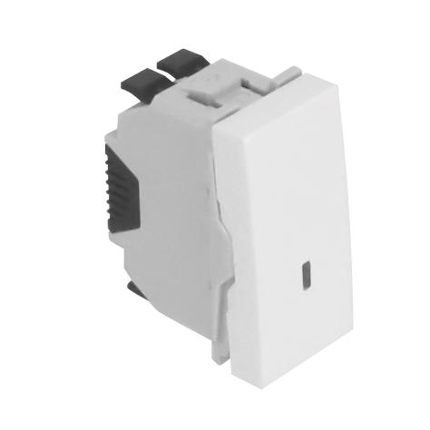 Pulsador Luminoso de 12V - 1 Módulo