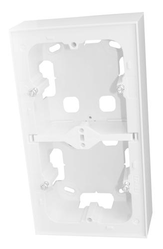 Doble Caja de Superfície para Serie LOGUS 90
