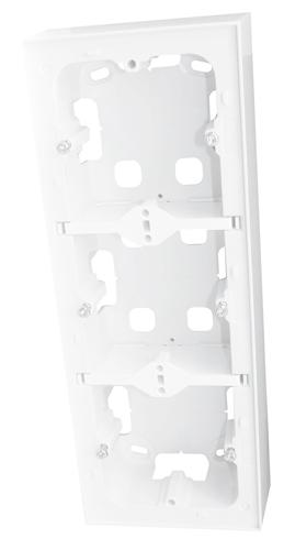 Triple Caja de Superficie para Serie LOGUS 90