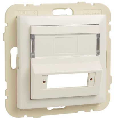 Enjoliveur pour Coupleur pour Connecteurs de Fibre Optique SC APC Duplex