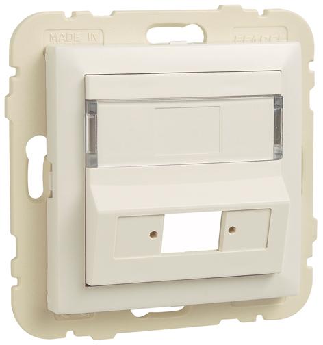 Enjoliveur pour Coupleur pour Connecteurs de Fibre Optique SC APC Simplex / LC Duplex