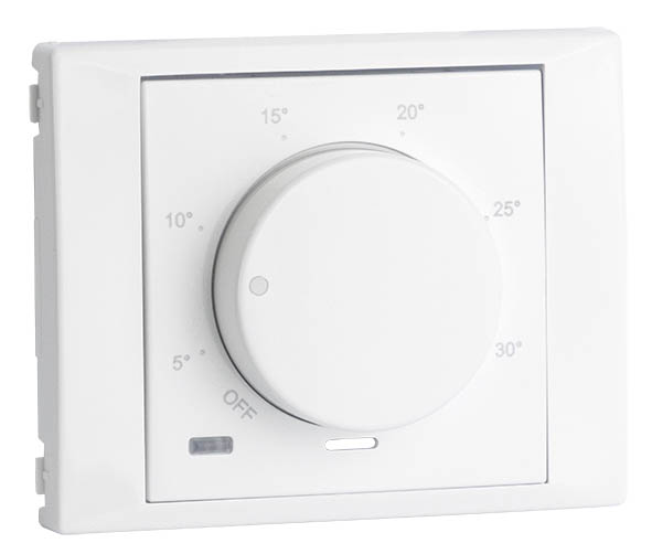 Cover Plate for Rotary Thermostat