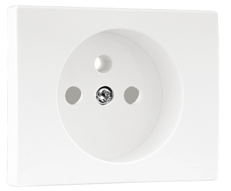 Safety Cover Plate for Earth Socket (French Type)