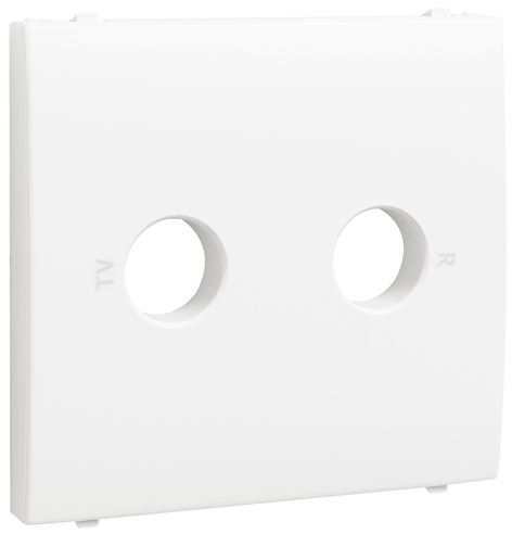 Cover Plate for R - TV Sockets