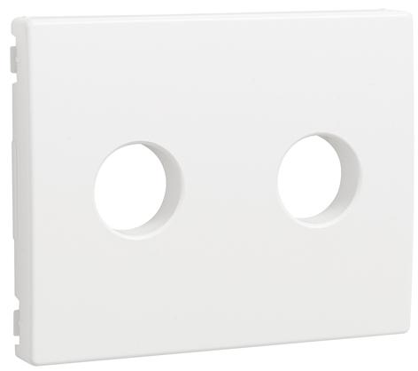 Cover Plate for Screw Terminal Loudspeaker Socket