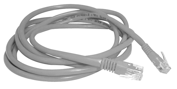 Cordon 2xRJ45 4P UTP Cat. 6 (0,5m)