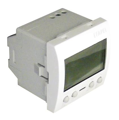 Cronotermostato Digital - 2 Módulos