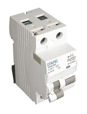 Interruptor Diferencial 1P+N - 6kA - 30mA