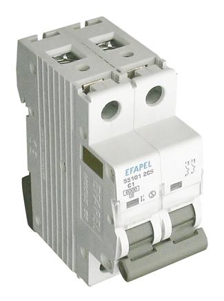 Disyuntor MT - 2P - 6kA