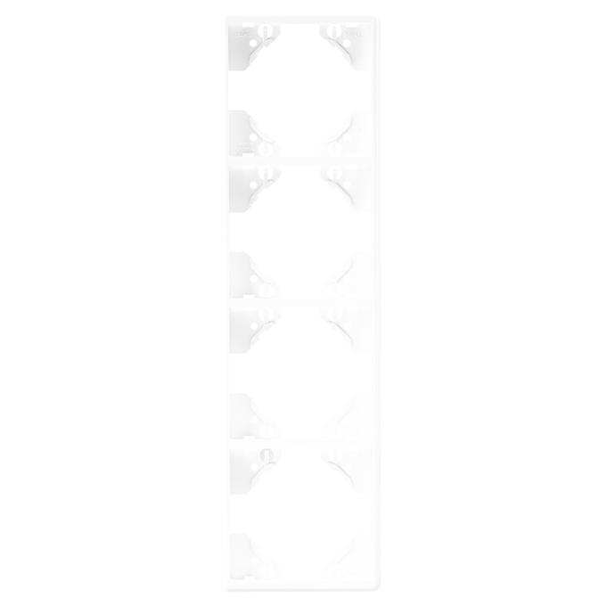 Plaque Quadruple Verticale