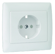 Monoblock Cover for Safety Earth Socket (Schuko Type)