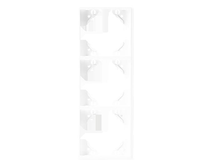 Plaque Triple Verticale