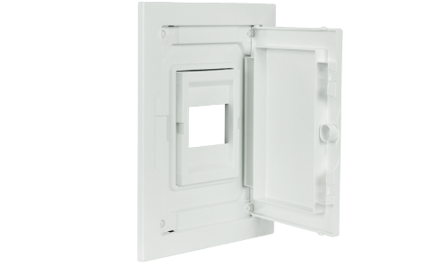 Interior Fitting and Door for Low Profile Distribution Panelboard - 4 MODULES (1x4)