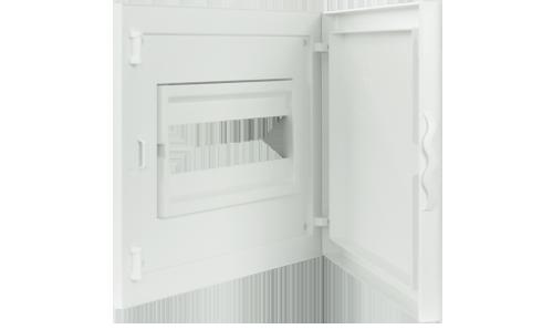 Intérieur et Porte pour Tableau de Distribution - 12 Modules (1x12)