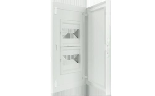 Intérieur et Porte pour Tableau de Distribution - 16 Modules (2x8)