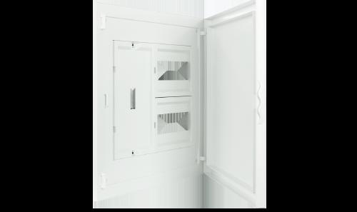 Intérieur et Porte pour Tableau à encastrer - 16 Modules (2x8)+AGCP