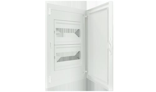 Intérieur et Porte pour Tableau de Distribution - 24 Modules (2x12)