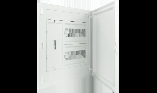 Intérieur et Porte pour Tableau à encastrer - 24 Modules (2x12)+AGCP