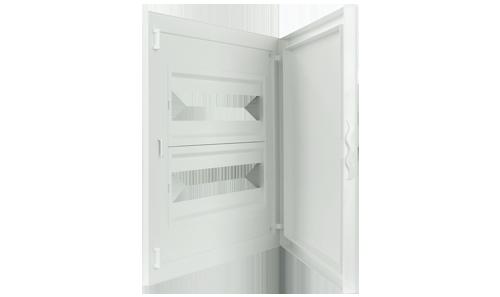Intérieur et Porte pour Tableau de Distribution - 32 Modules (2x16)