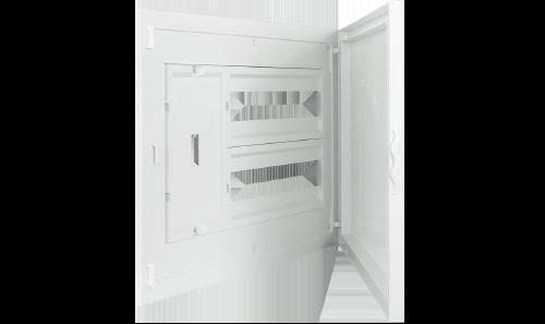 Intérieur et Porte pour Tableau à encastrer - 32 Modules (2x16)+AGCP