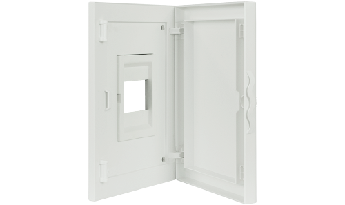 Intérieur et Porte pour Tableau de Distribution - 4 Modules (1x4)