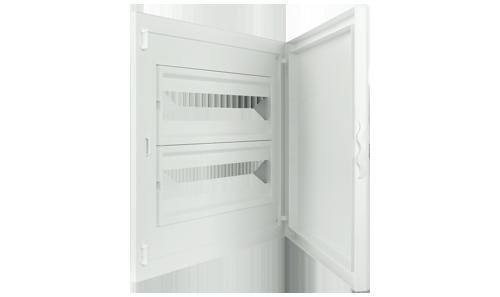 Intérieur et Porte pour Tableau de Distribution - 40 Modules (2x20)