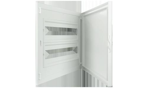 Intérieur et Porte pour Tableau de Distribution - 48 Modules (2x24)