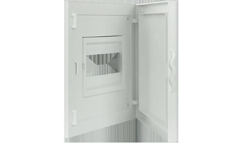 Intérieur et Porte pour Tableau de Distribution - 8 Modules (1x8)