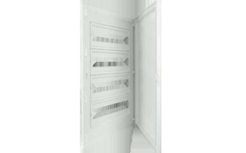 Intérieur et Porte pour Tableau de Distribution - 80 Modules (4x20)