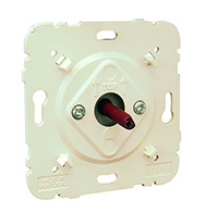 3 Positions Rotary Switch White