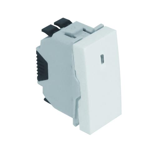 Interruptor con Piloto de Señalización - 1 Módulo