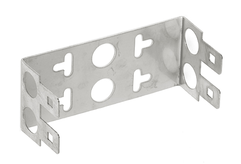 Mounting Support for 2 DDE/DDS Modules (22mm height)