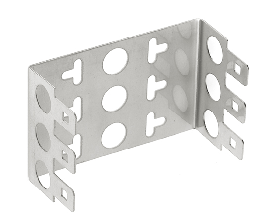 Mounting Support for 3 DDE/DDS Modules (22mm height)