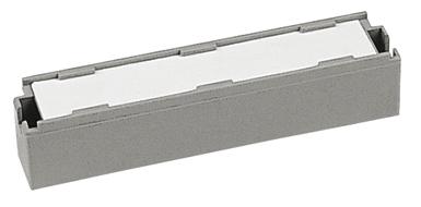 Label Holder for Mounting Frames