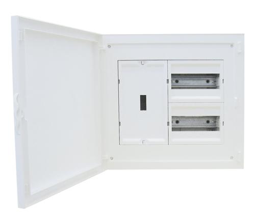 Tableau d'entrée Complet à encastrer - 16 Modules (2x8)+AGCP