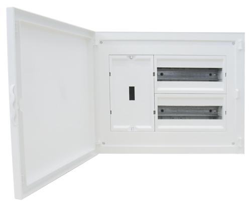 Tableau d'entrée Complet à encastrer - 24 Modules (2x12)+AGCP