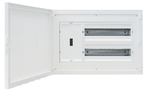 Tableau d'entrée Complet à encastrer - 32 Modules (2x16)+AGCP