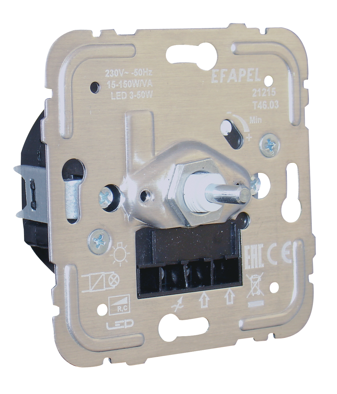 Electronic Dimmer/Two-way Switch for Low Power Lamps - 150W R, C