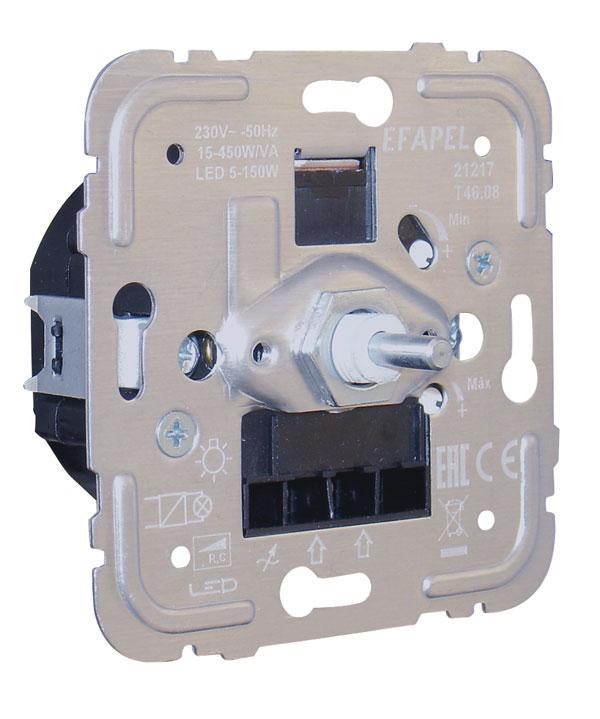 Variateur/Va-et-Vient Électronique pour Lampes de Basse Consommation 450W/VA R,C