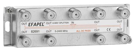 Eight Outputs TV Splitter