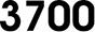 Serie 3700