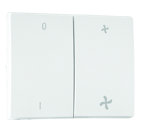 Double Rockers for Two-way Switch Fan