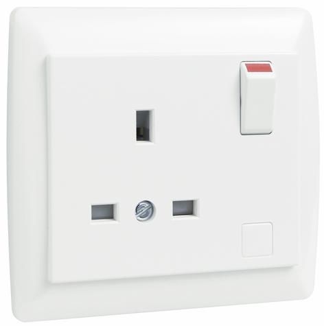 Base Inglesa Monobloc con Interruptor