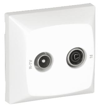 R TV - SAT Socket for Star Connection