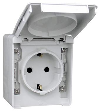 Earth Socket (Schuko Type)